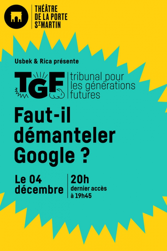Imprimer tribunal pour les generations futures faut - Theatre de la porte saint martin 75010 paris ...