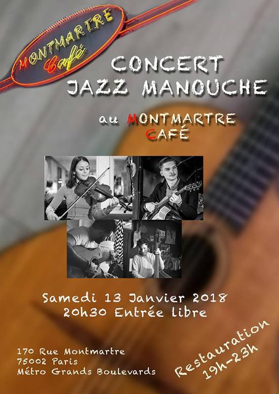 Cafe Concert Paris Samedi