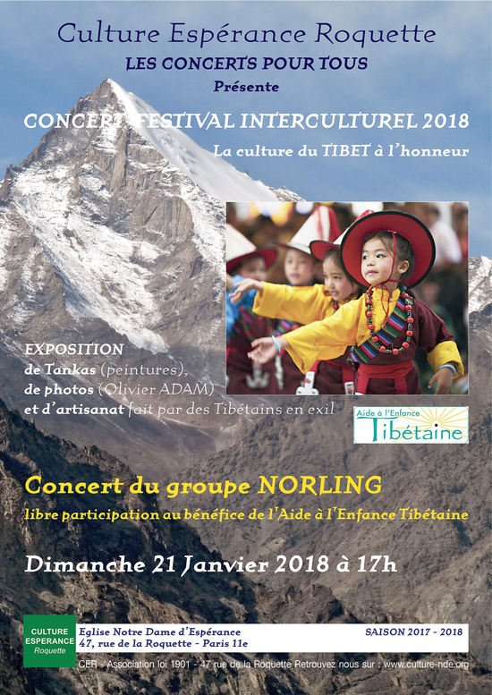 Concert pour le Tibet