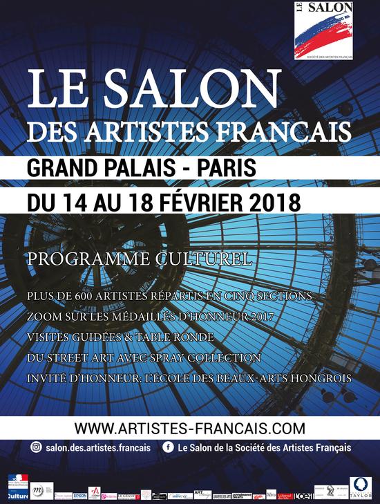 Le salon des artistes fran ais 2018 grand palais paris for Salon etudiant 2017 paris