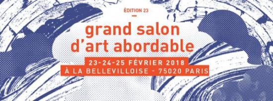 23e grand salon d 39 art abordable bellevilloise paris for Grand salon d art abordable