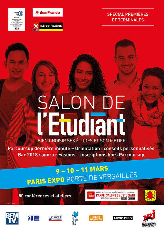 Imprimer salon de l 39 etudiant paris parc des for Salon de l emploi paris