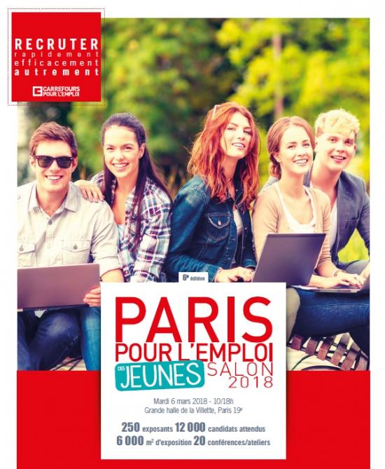 imprimer   paris pour l u0026 39 emploi des jeunes 2018