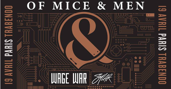 Of Mice & Men, Wage War, Sylar