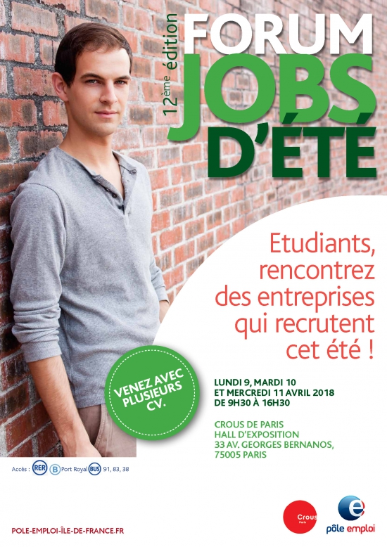 Job rencontres paris 2018
