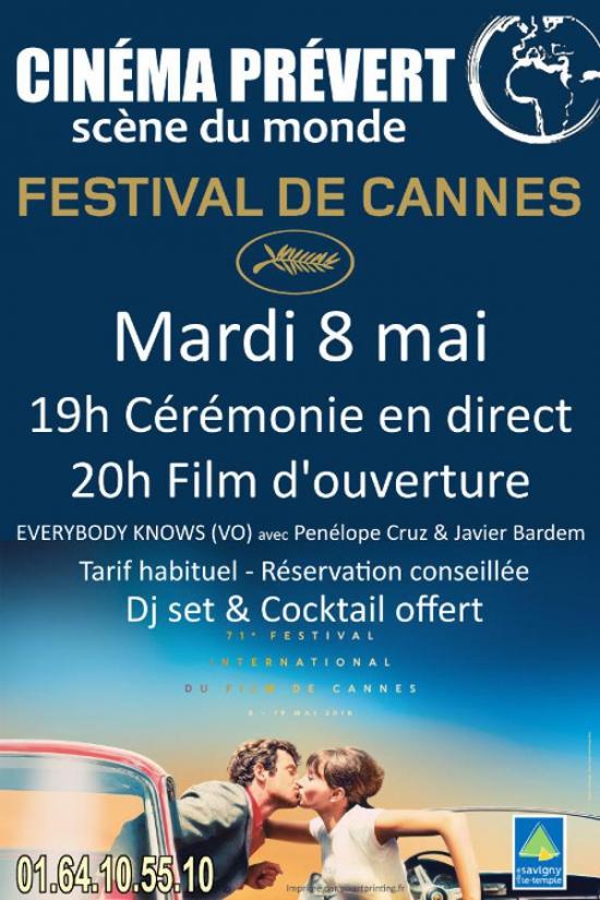 Festival de cannes soir e d 39 ouverture espace pr vert - Date festival de cannes ...