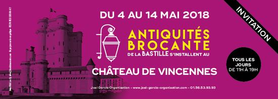 Salon Antiquites Brocante Chateau De Vincennes Chateau De
