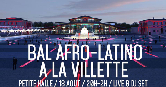 bal afro latino la villette la petite halle paris 75019 sortir france le parisien. Black Bedroom Furniture Sets. Home Design Ideas