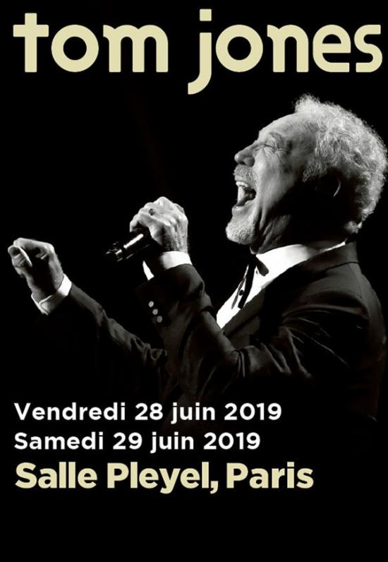 Tom Jones Salle Pleyel Paris 75008 Sortir A Paris Le