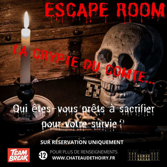 "Escape game ""La crypte du Compte"""