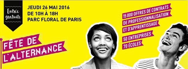F te de l 39 alternance 2016 parc floral de paris paris for Salon de l alternance paris