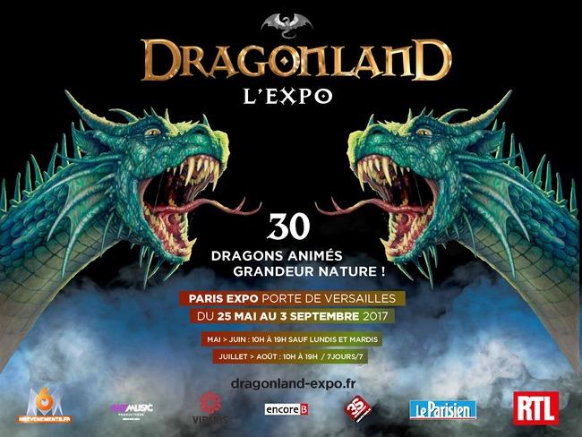 Dragonland le mythe devient r alit parc des - Parc des expositions porte de versailles plan ...