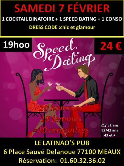 Soir e Speed dating gratuit