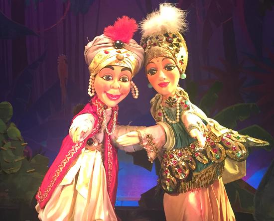 Le tresor du sultan th tre des marionnettes du jardin - Jardin du luxembourg enfant ...