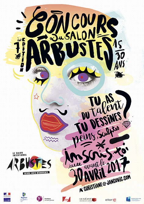 Salon des jeunes talents plasticiens arbustes mantes for Salon etudiant 2017 paris