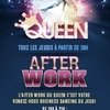 affiche AFTERWORK @ QUEEN CLUB PARIS !
