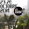 affiche FIAC 2014 - Foire Internationale d'Art Contemporain