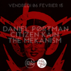 affiche Daniel Portman, Citizen Kain & The Mekanism