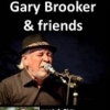 affiche GARY BROOKER WITH JUDY BLAIR - AND FRIENDS