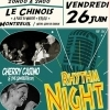 affiche RHYTHM NIGHT : CHERRY CASINO and the GAMBLERS + LILY MOE + K'PTAIN KIDD