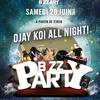 affiche BIZZZZZZ PARTY Feat DJAY KOI