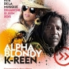 affiche Alpha Blondy et K'reen