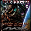 affiche Stay Young and Die Pretty X (plage et club) Perfect Stranger, Electrypnose, Banditos, Chris Liberator…