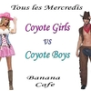 affiche Coyote girls vs coyote boys