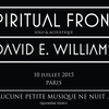 affiche Spiritual Front (solo, acoustique) et David E. Williams en concert