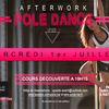 affiche Afterwork Pole Dance by Upside
