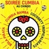 affiche SOIREE CUMBIA ET PLUS ENCORE : CUMBIA BAMBA + GROUPE SURPRISE + BOLA PIRATA +COCOSETT TROPICALBEATS