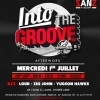 affiche INTO THE GROOVE AFTERWORK by Golden Years mercredi 1 juillet au SANZ.