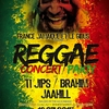 affiche Reggae Party France Jamaïque