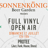 affiche FULL VINYL OPEN AIR