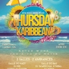 affiche THURSDAY KARIBBEAN