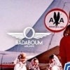 affiche Badaboum Airlines - Paris to Belgrade : 20/44 Djs Resident