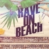 affiche RAVE ON BEACH
