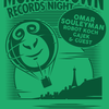 affiche MONKEYTOWN RECORDS NIGHT W/ OMAR SOULEYMAN, ROBOT KOCH, GAJEK & GUEST