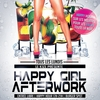 affiche HAPPY GIRL AFTERWORK