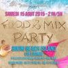 affiche FOOD AND MIX - BIKINI ISLAND - Vp maillots Bikiniz