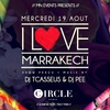 affiche I Love Marrakech - Summer Edition