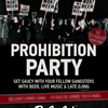 affiche Prohibition Party
