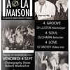 affiche PARTY A LA MAISON 4 GROOVE 4 SOUL 4 LOVE