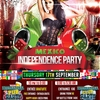 affiche INTERNATIONAL STUDENT PARTY : Fête du Mexique