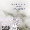affiche PECHE MIGNION RECORDS LABEL NIGHT
