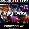 affiche FUNKY DELAY EN LIVE AU CHINA