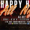 affiche HAPPY HOUR ALL NIGHT