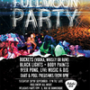 affiche Full Moon Party Belushi's GDN