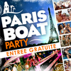 affiche Paris Boat Party : GRATUIT !