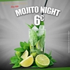 affiche Happy Mojito Night By Dj Paris Animations